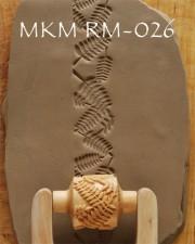 TEXTUR ROLLSTEMPEL  RM-026  L 3CM, <br><i>Preis pro Stück</i>